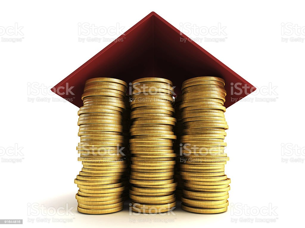 mortgage concept royalty-free stock photo