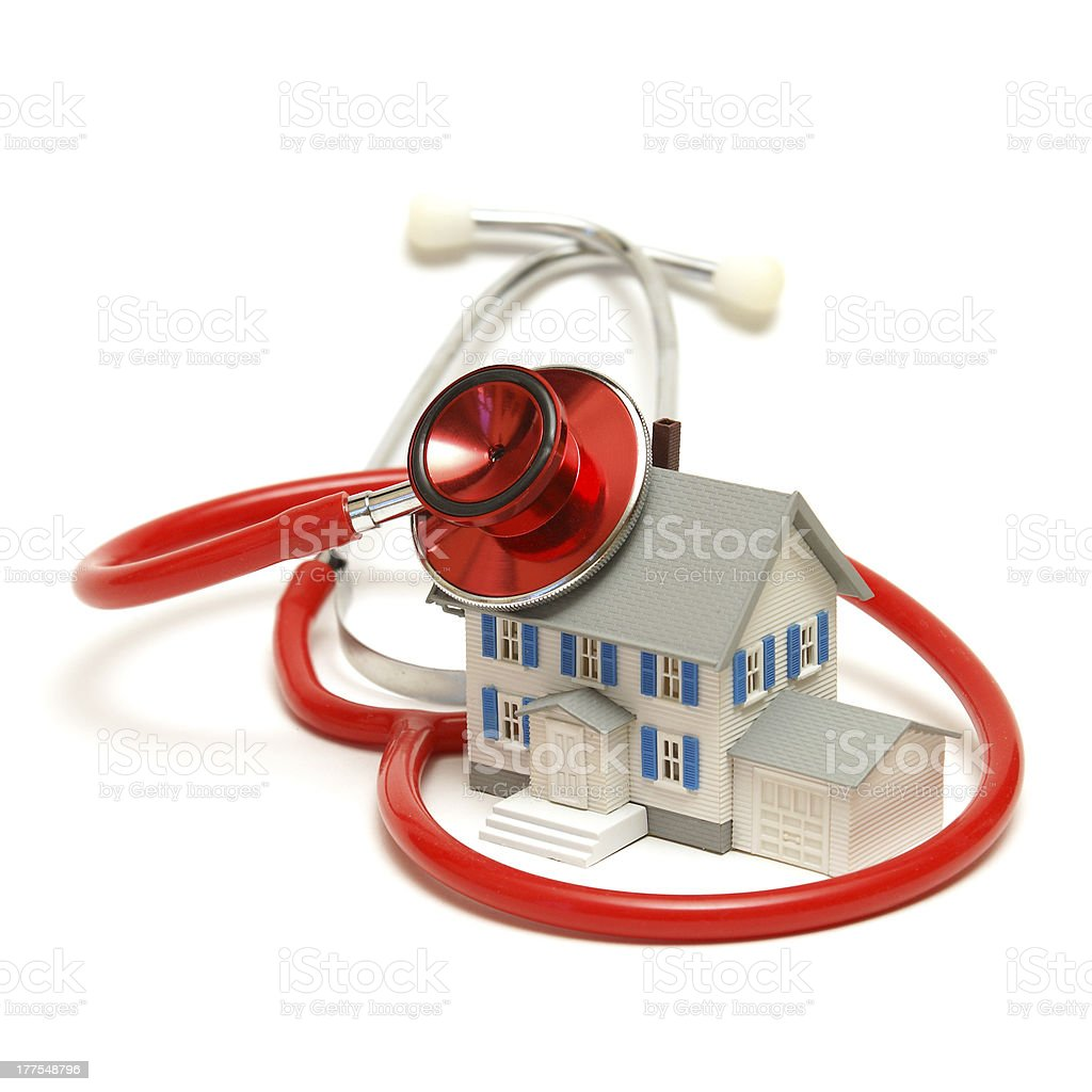 Mortgage Doctor royalty-free stock photo