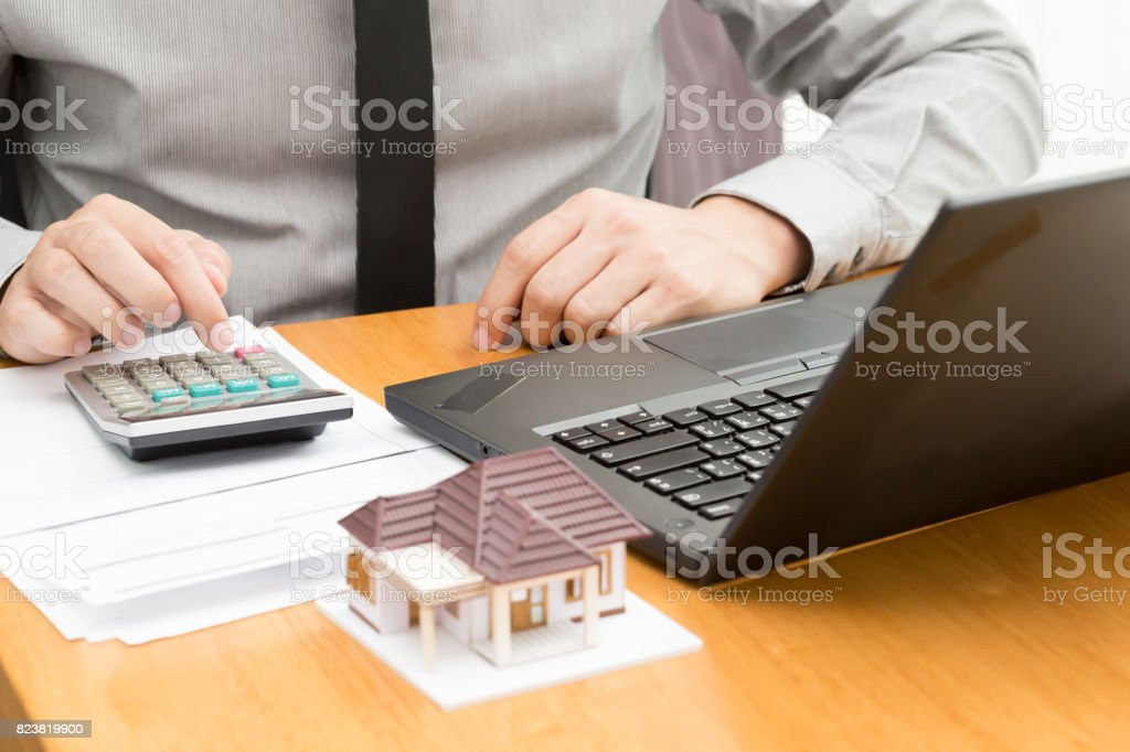 Maison de prêt hypothécaire - Photo
