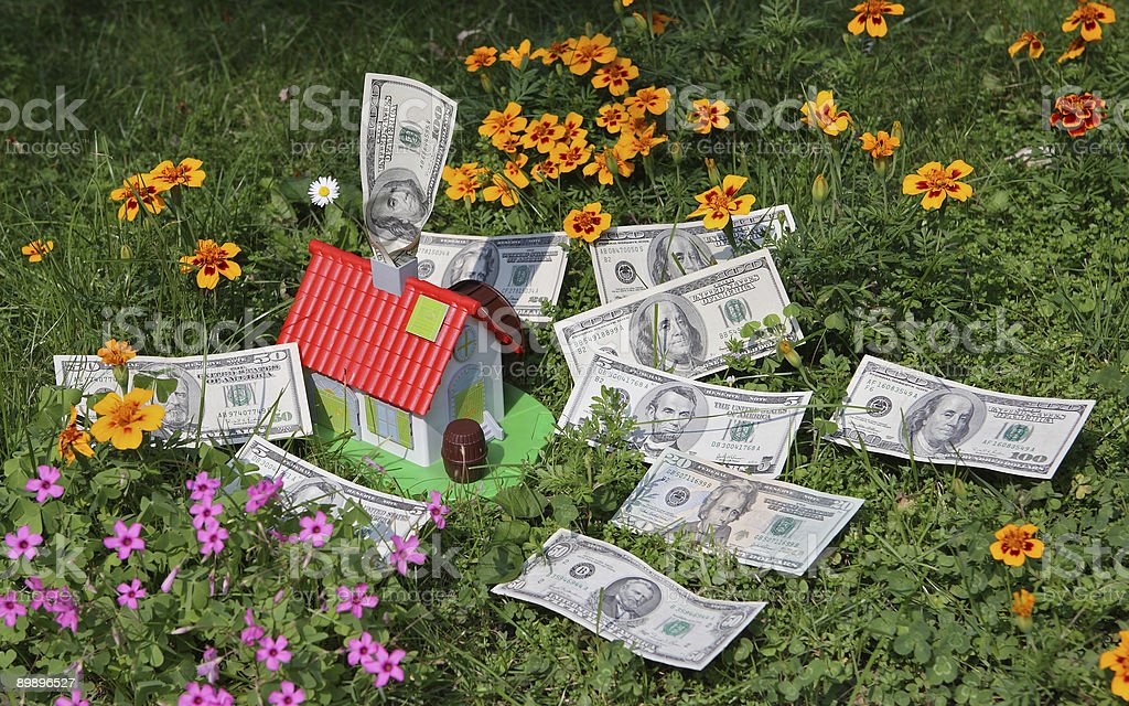 Ипотечный кредит, как возможность приобрести Дом Стоковые фото Стоковая фотография