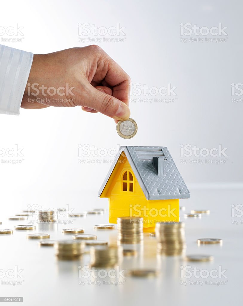 Mortgage royalty free stockfoto