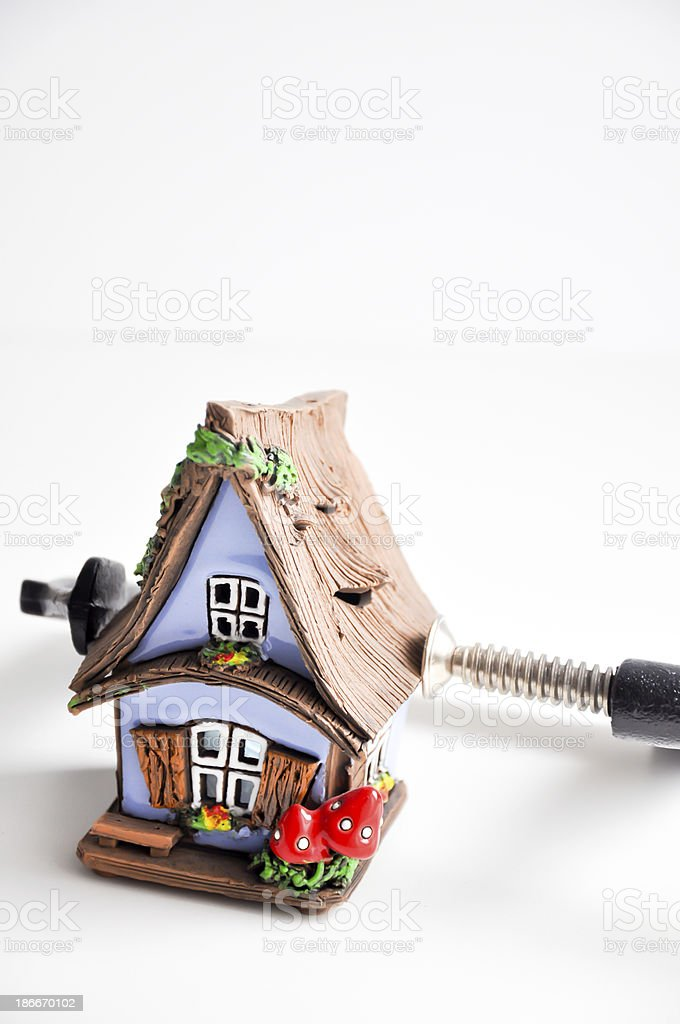 mortgage pressure royalty-free stock photo