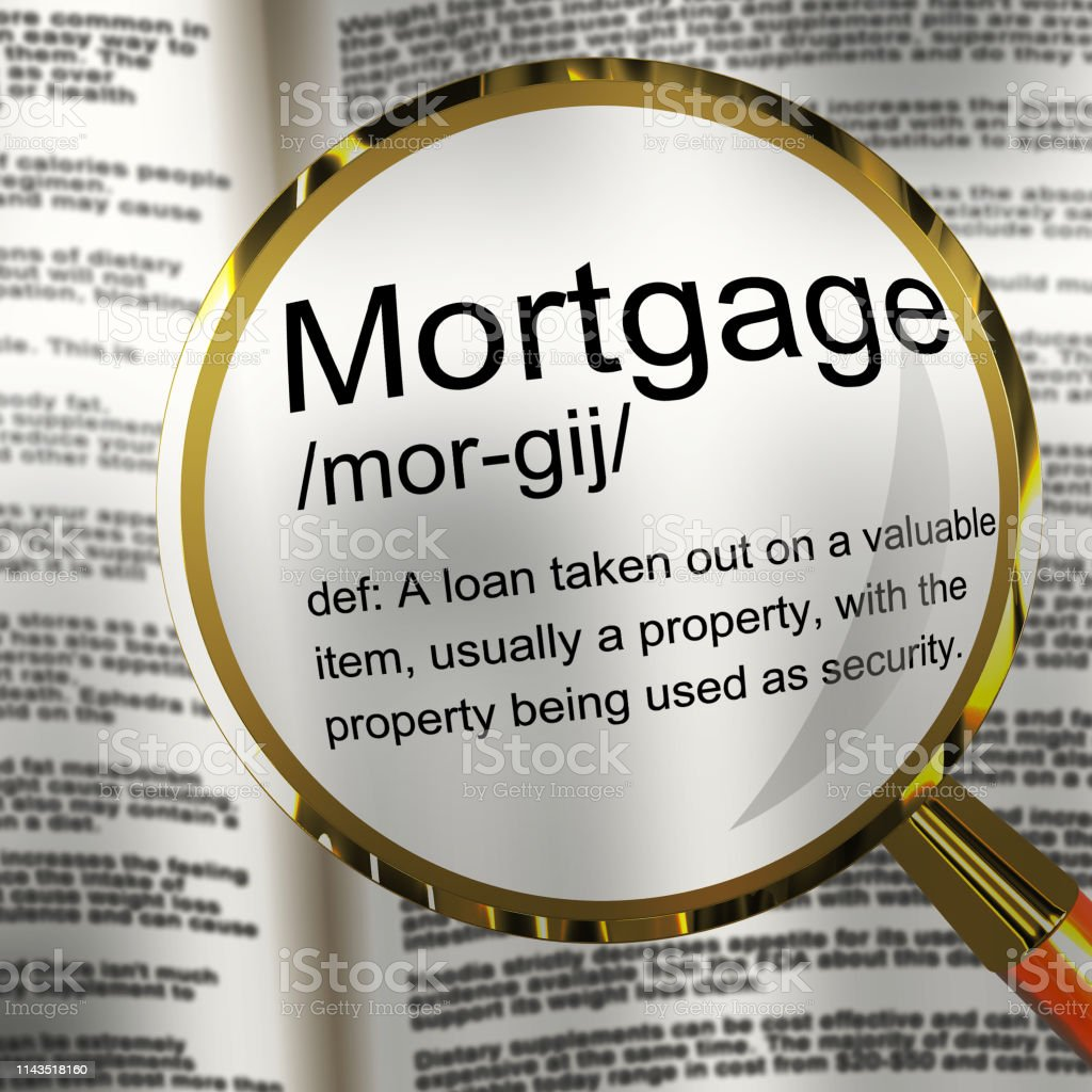 Mortgage Rates Definition For Buy To Let Morgage Or Home Ownership...