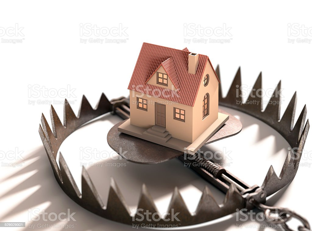 Mortgage Real Estate stock photo