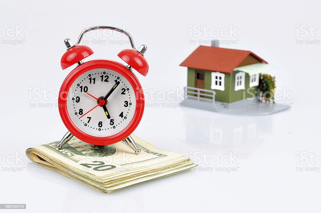 Mortgage Time stock photo