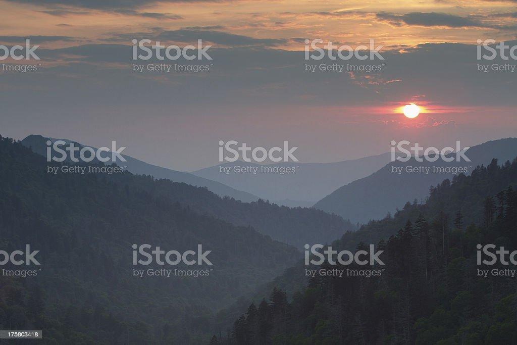 Morton's Overlook stock photo