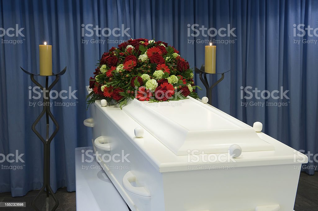 Mortuary royalty-free stock photo