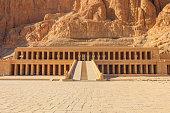 Mortuary Temple of Hatshepsut in Luxor, Egypt