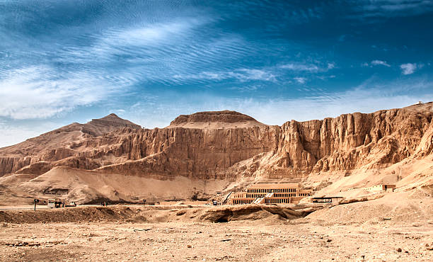 Mortuary Temple Of Hatshepsut Mortuary Temple Of Hatshepsut valley of the kings stock pictures, royalty-free photos & images