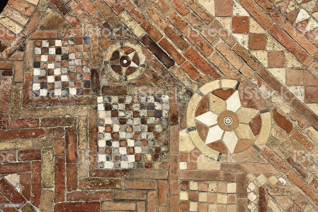 Mosaic art royalty-free stock photo