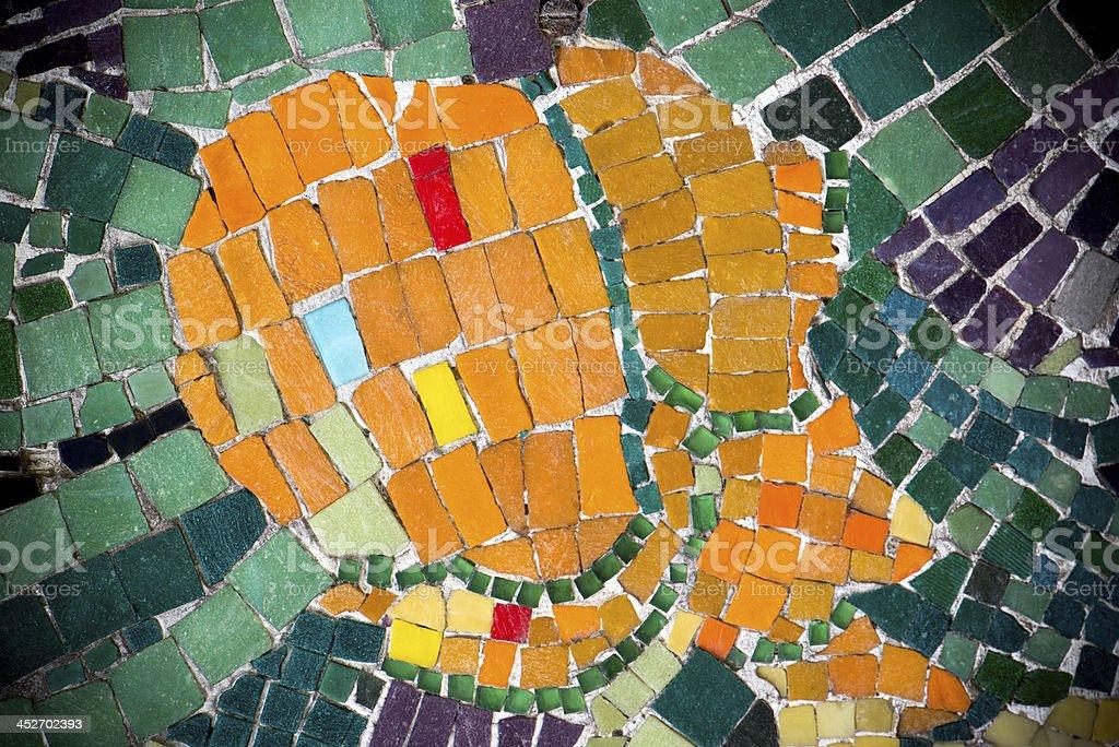 Mosaic Background royalty-free stock photo