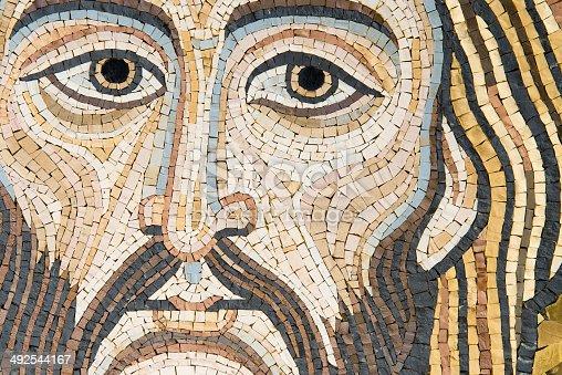 istock Mosaic: Christ's Face 492544167