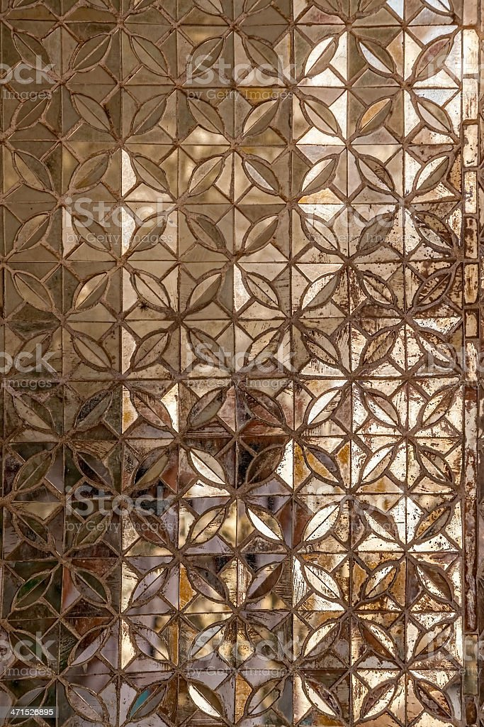 Mosaic decoration royalty-free stock photo