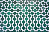 mosaic floor design pattern structure with clear geometric lines