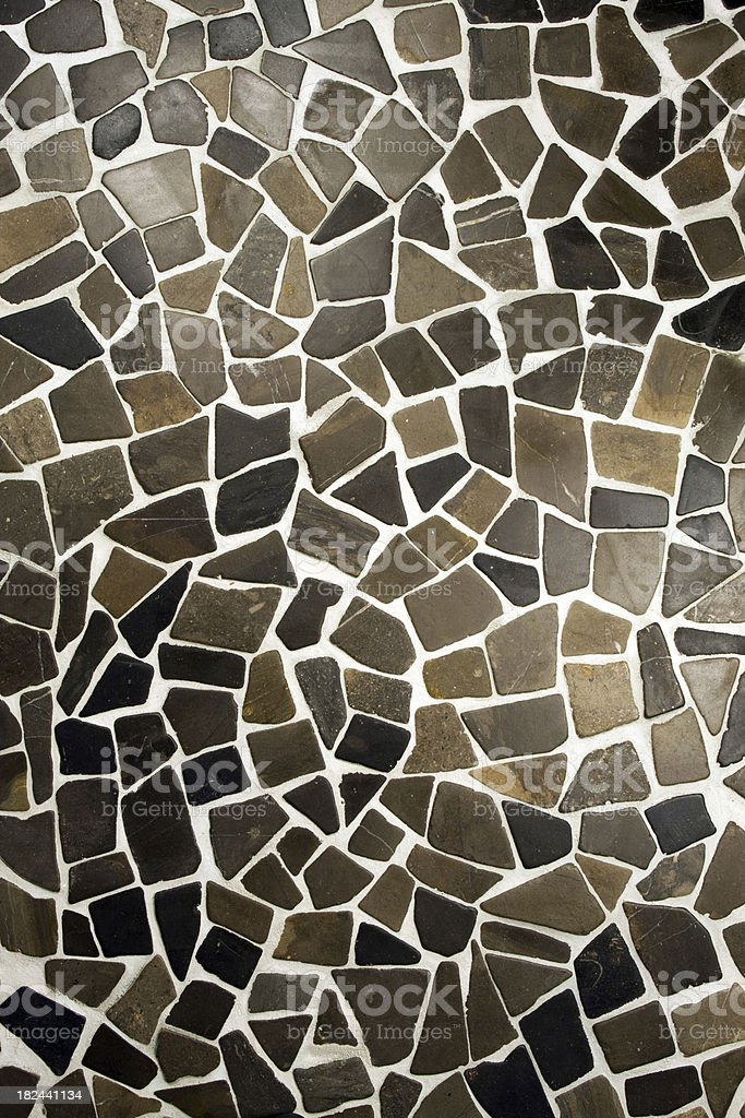 Mosaic Floor royalty-free stock photo