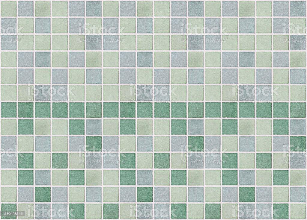 Mosaico Piastrelle In Marmo Verde Square Fotografie Stock E Altre