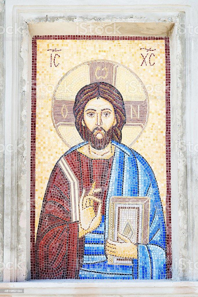 Mosaik Von Jesus Christ Stockfoto und mehr Bilder von ...