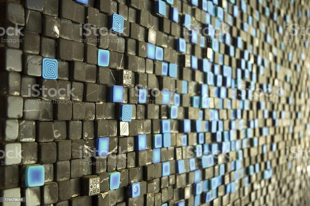 mosaic royalty-free stock photo
