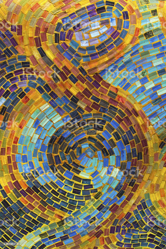 Mosaic Quilt royalty-free stock photo