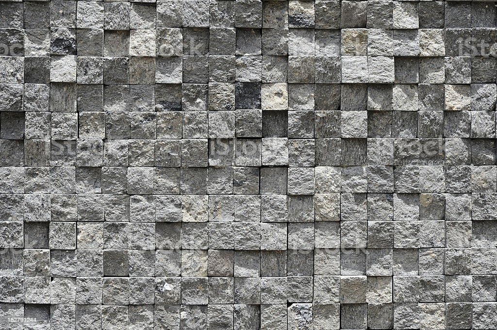 Mosaic stone background royalty-free stock photo