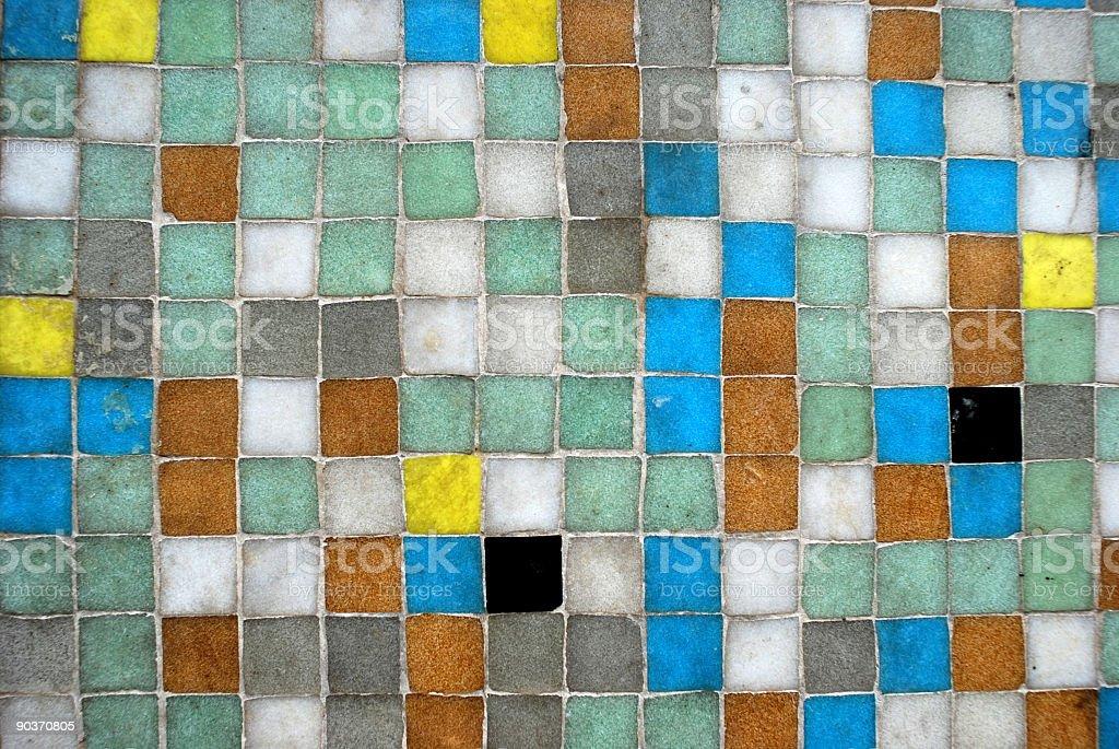 Mosaico di texture fotografie stock e altre immagini di bianco