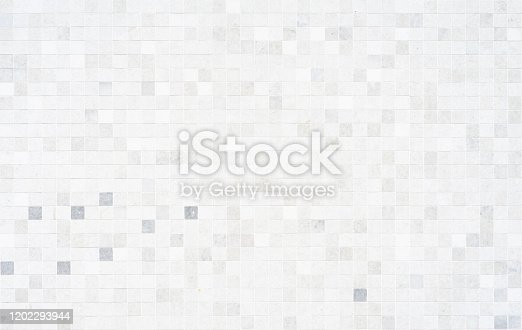 Mosaic tile of wall texture