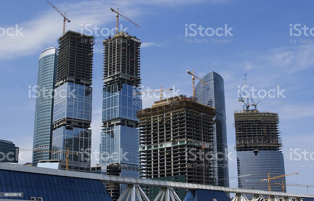 Moscow City 3 royalty-free stock photo