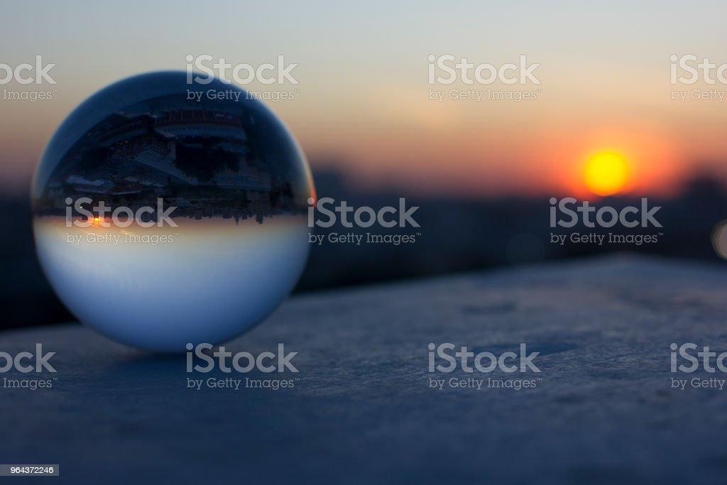 Cidade de Moscou ao pôr do sol - Foto de stock de Adulto royalty-free