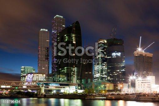 istock Moscow City 119796434
