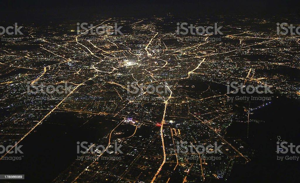 La ciudad de Moscú - foto de stock