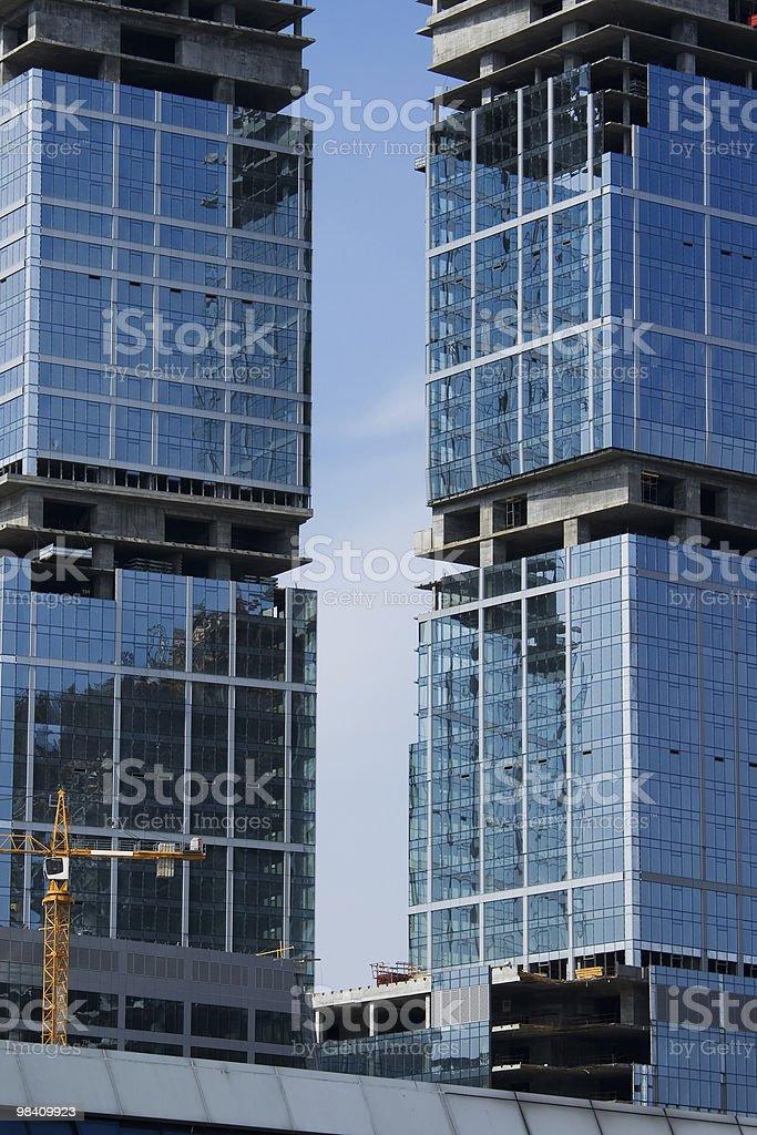 Mosca City foto stock royalty-free