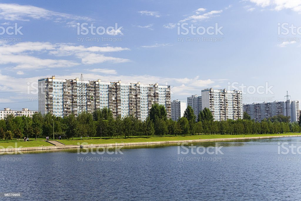 Moscow district royalty-free stock photo