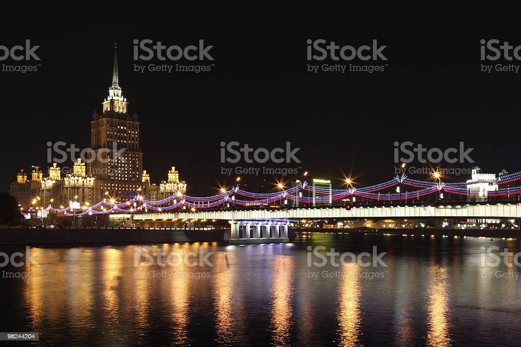 Moscow Hotel royalty-free stock photo