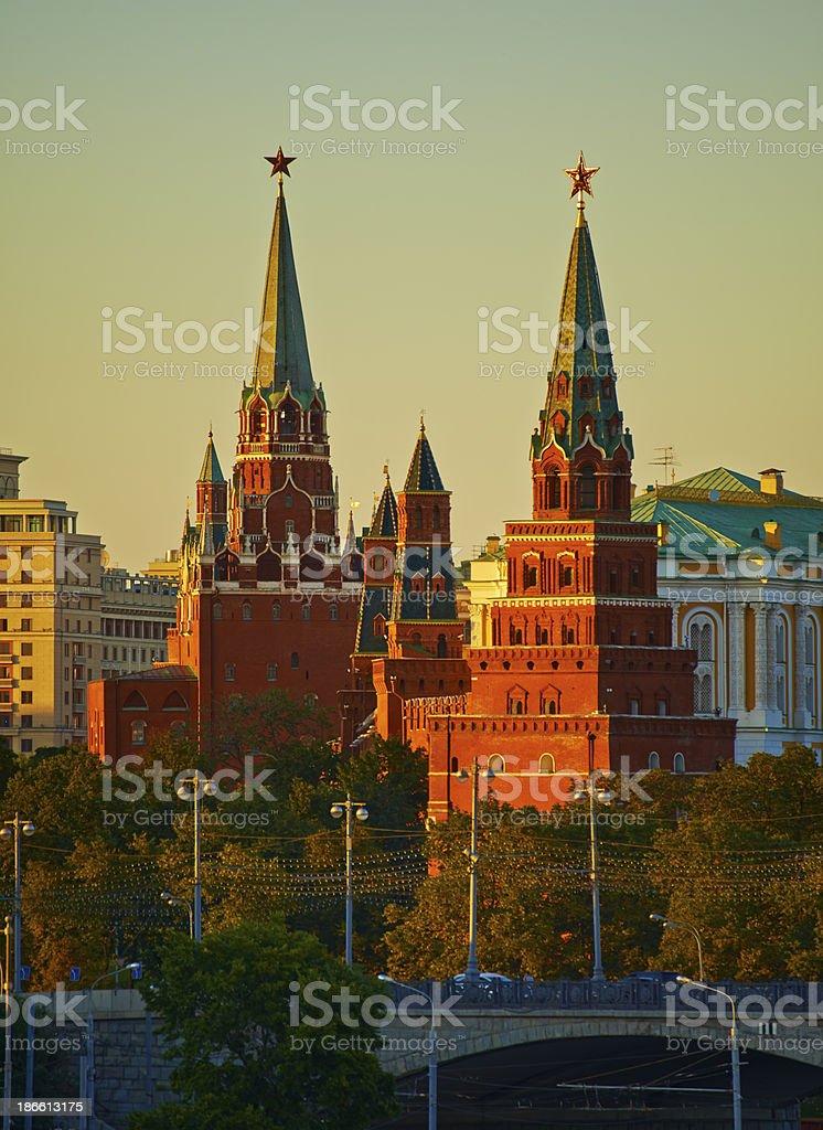 Moscow Kremlim. royalty-free stock photo