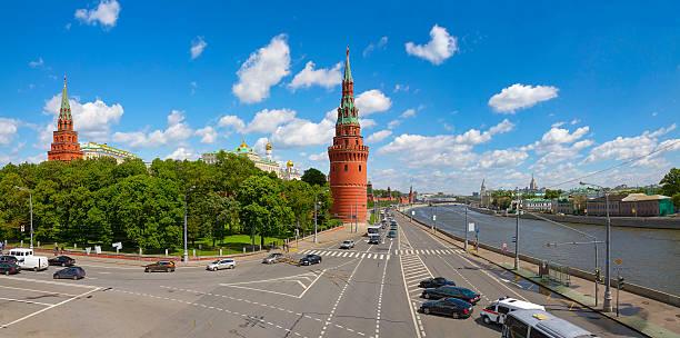 Cтоковое фото Московский Кремль и Москва-реку в солнечный день