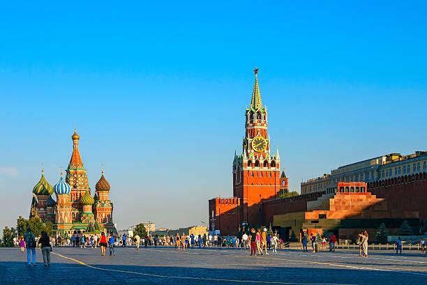 Cтоковое фото Московский Кремль, Красную площадь, Собор Василия Блаженного