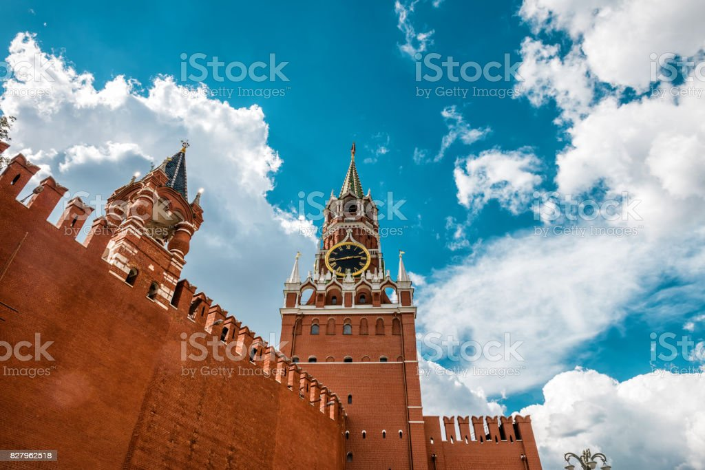 Moscow Kremlin, Russia stock photo