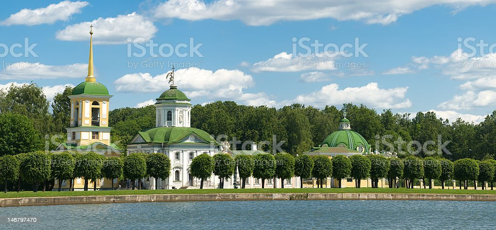 Moscow. Kuskovo royalty-free stock photo