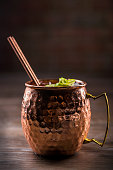 Moscow Mule in a Copper Mug (Click for more)