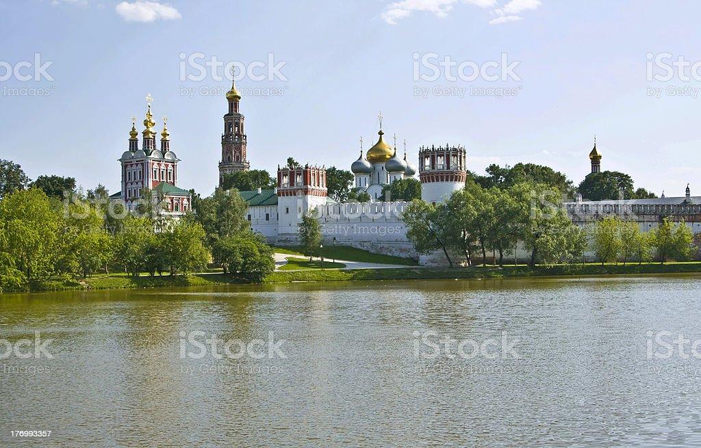 Moscow, Novodevichiy monastery royalty-free stock photo