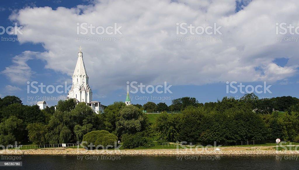 Moscow park Kolomenskoe royalty-free stock photo