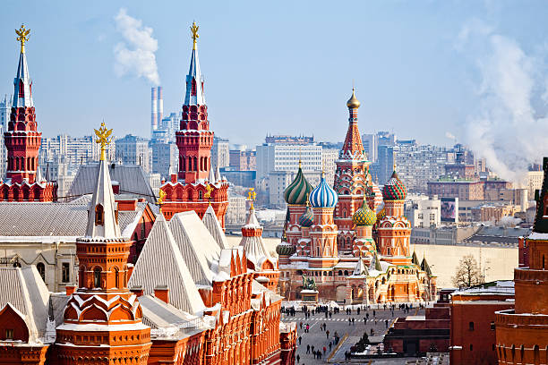 moscow - russia stock pictures, royalty-free photos & images