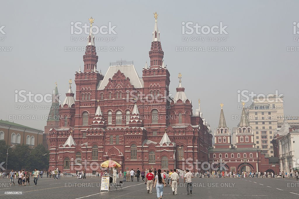 Moscow Red Square and Kremlin royalty-free stock photo