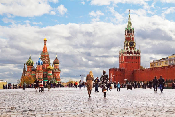 Moskau, Russland, Roter Platz. – Foto