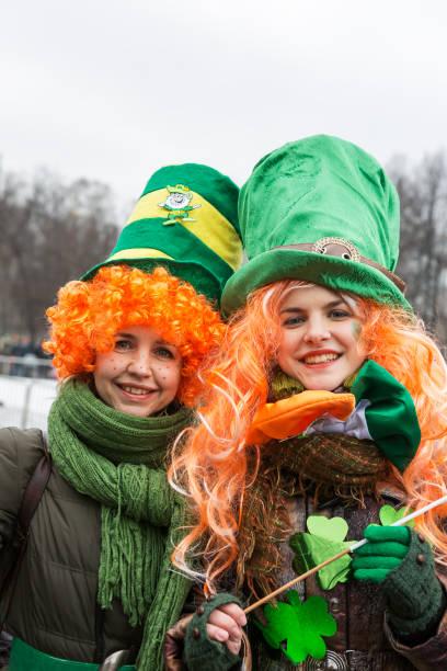 Moskau, Russland, St. Patrick es Day (Saint Patrick es Day) im Jahr 2019. – Foto