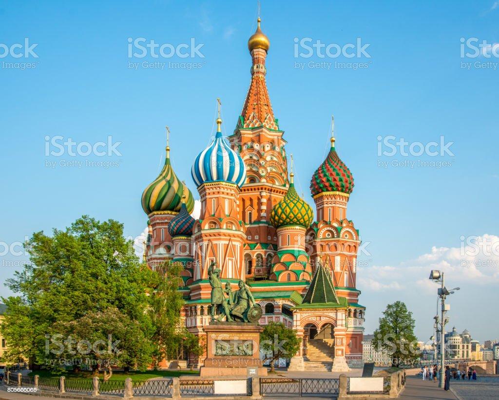 St.Basil Kathedrale von Moskau, Russland – Foto