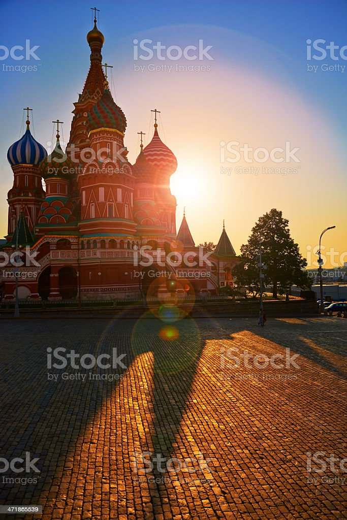 Moscow, St. Basil Cathedral. royalty-free stock photo