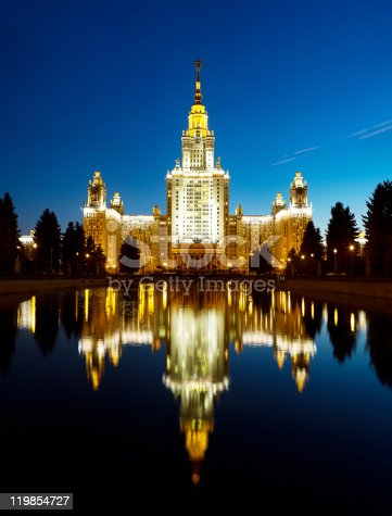 istock Moscow State Universtity 119854727