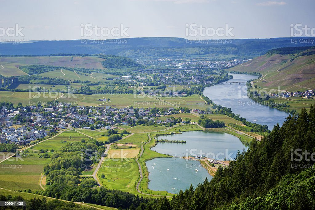 Mosel Valley in Germany royalty-free stock photo