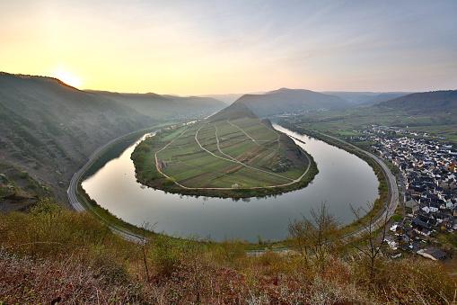 Moselle loop near Bremm